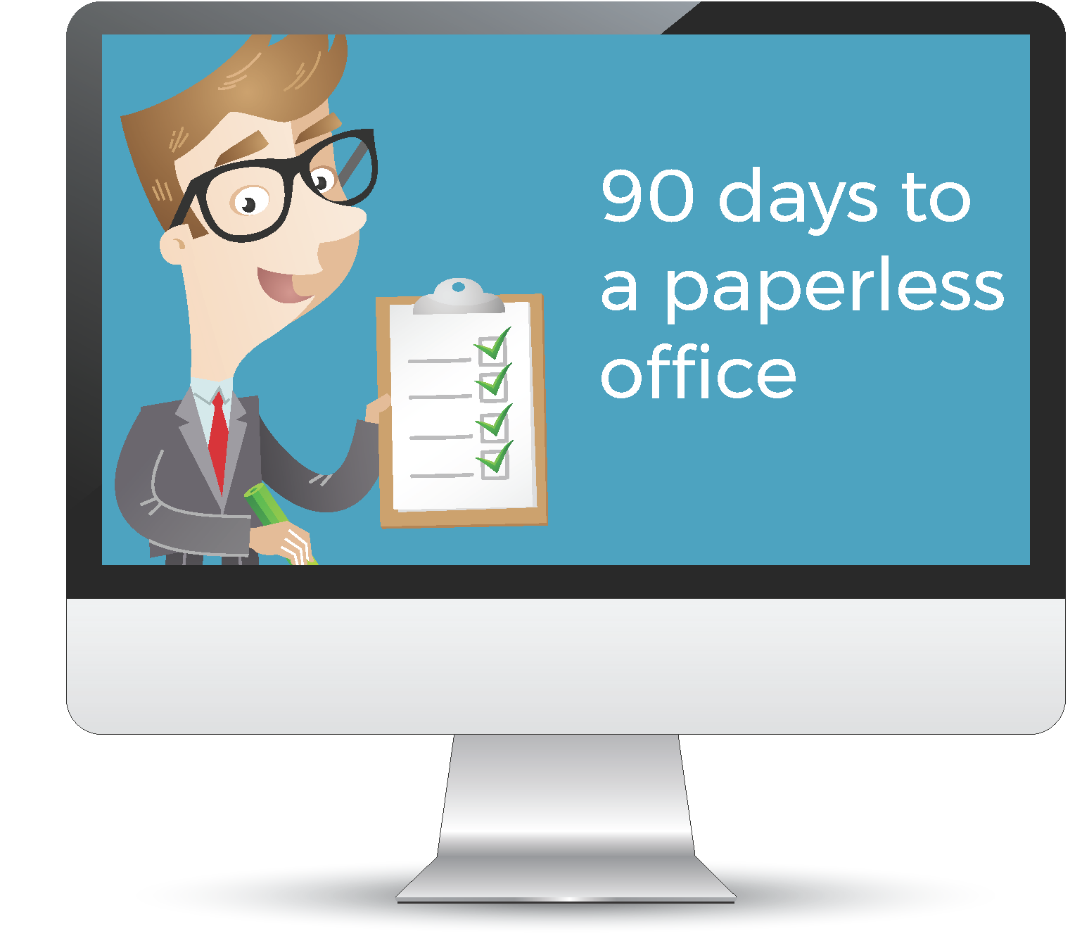 Go paperless in 90 days